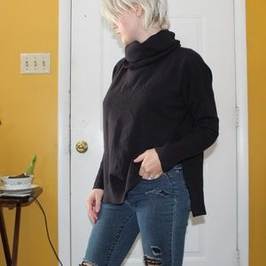 French Connection Black Turtleneck Sweater